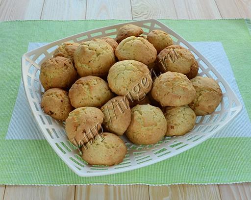 печенье на ванильном пудинге