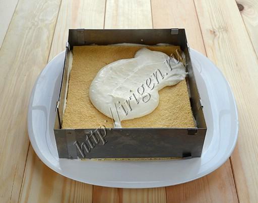 приготовление торта грация