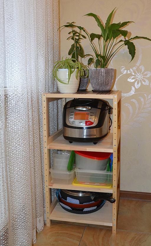 стеллаж для кухни