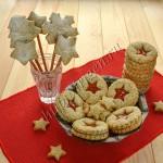 печенье новогоднее с маком
