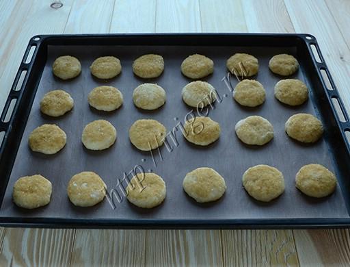 приготовление печенья кокосового на кефире