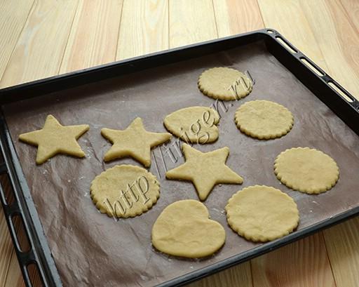 нижние половинки печенья
