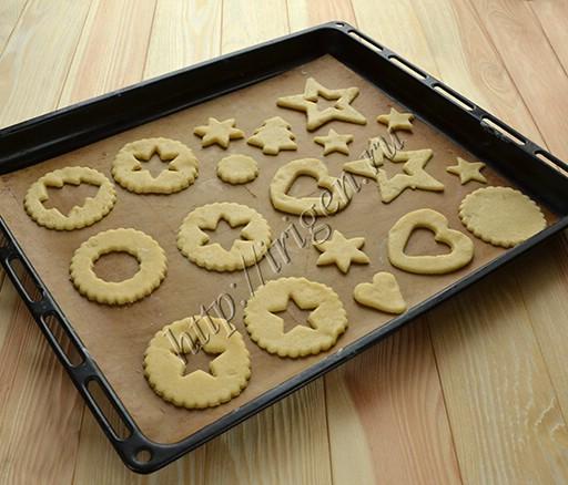 верхние половинки печенья
