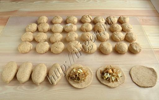 приготовление пирожков