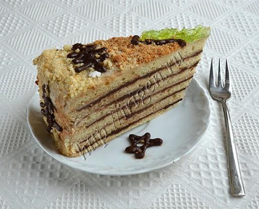 торт фантазия -разрез