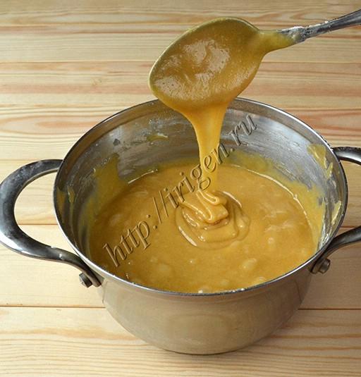 тесто для наливного медового торта