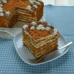 торт медовый наливной