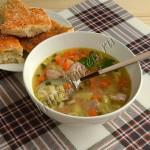 суп с тунцом и киноа
