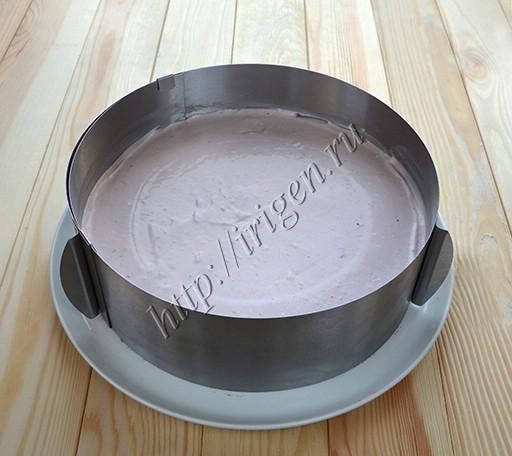 приготовление ежевичного чизкейка