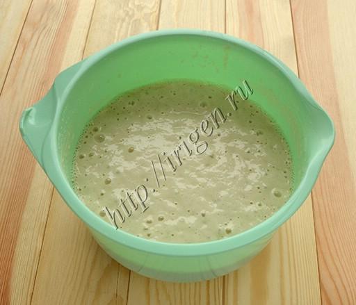 постное дрожжевое тесто для блинов