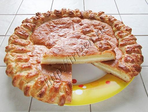 лепешка творожная с сыром