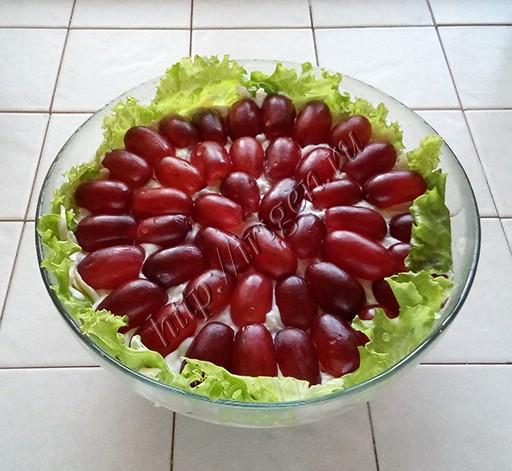 салат тиффани