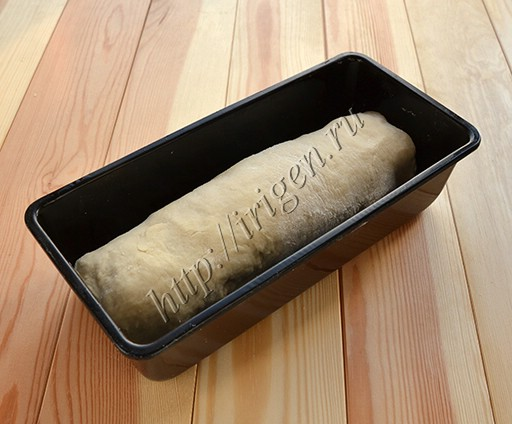 заварной хлеб в форме