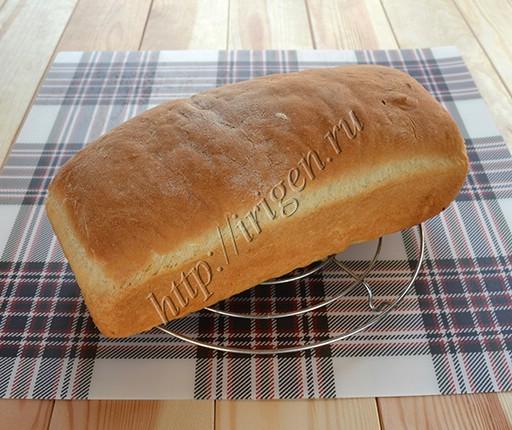 заварной хлеб после выпечки