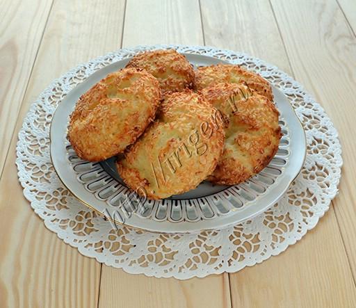 булочки-сырники творожно-кокосовые