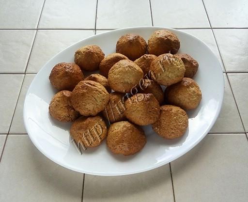 печенье кокосовые пирамидки