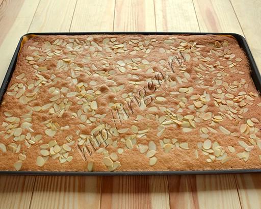 корж для пирога после выпечки