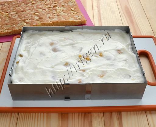 сборка пирога-суфле