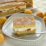 пирог-суфле с абрикосами