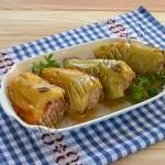 перец фаршированный мясом и капустой