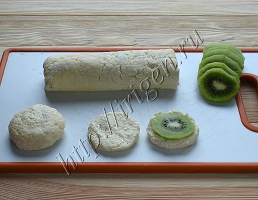 приготовление сырников с киви