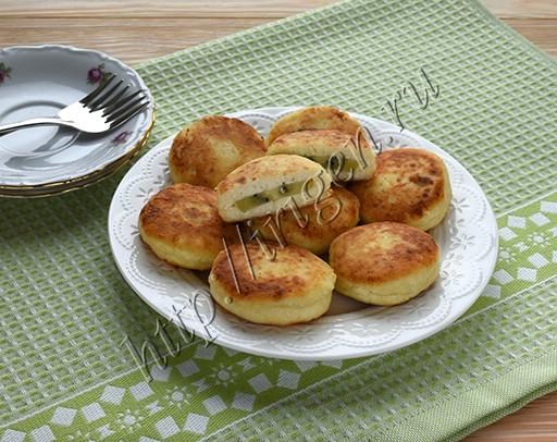 сырники с киви