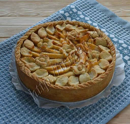 тарт яблочный