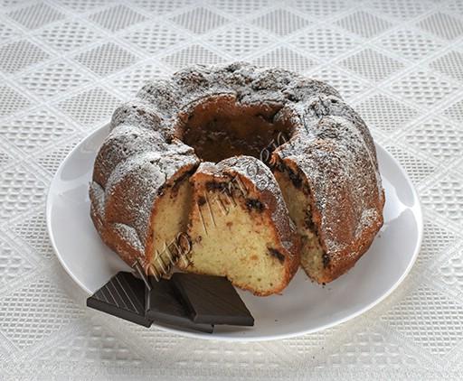 кекс на белках с шоколадом