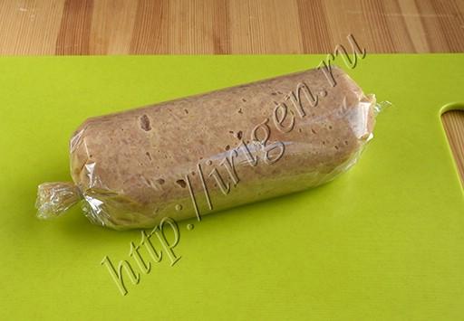 колбаска в пакете