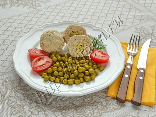 тефтели с сырной начинкой