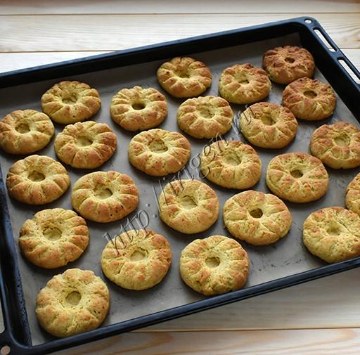 печенье после выпечки