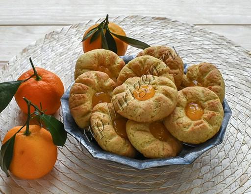 печенье мандариновое