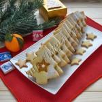 печенье новогодние елочки