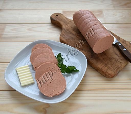 колбаса куриная паштетная