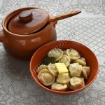 пельмени с начинкой из индейки и свинины