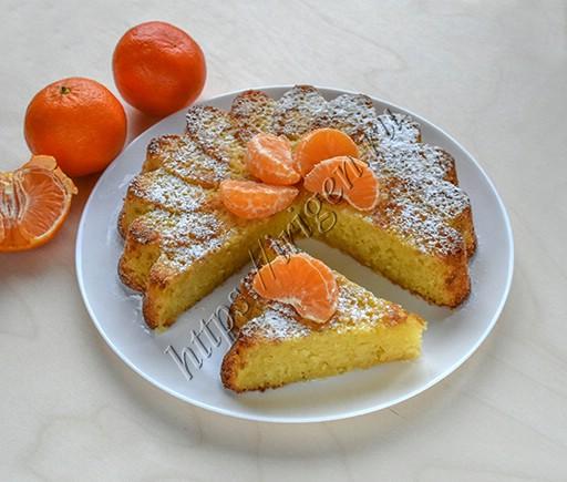 пирог мандариновый