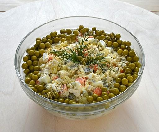 салат оливье столичный
