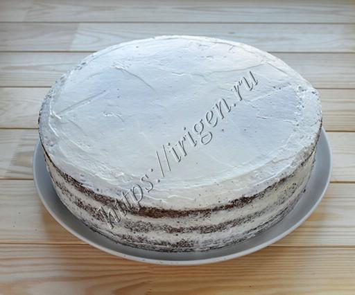 Приготовление торта черный лес