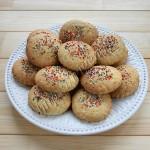 печенье сметанное с посыпкой