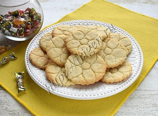 печенье лимонное постное