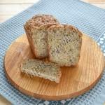 хлеб без дрожжей с отрубями