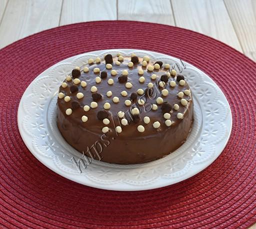 десерт творожно-шоколадный