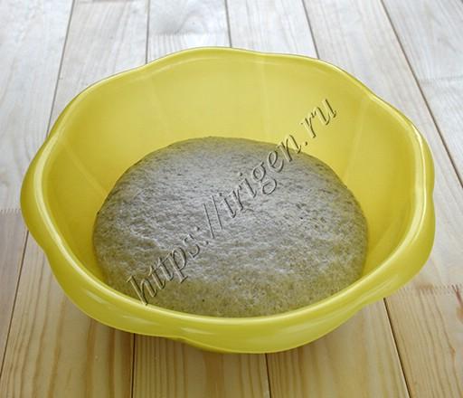тесто после расстойки