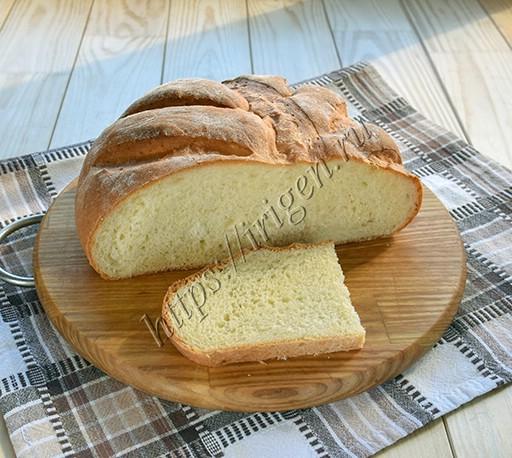 хлеб творожно-молочный в духовке