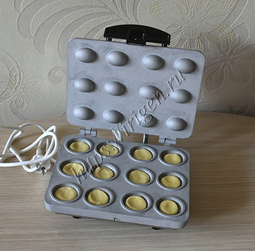 приготовление орешков