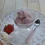мороженое клубничный пломбир