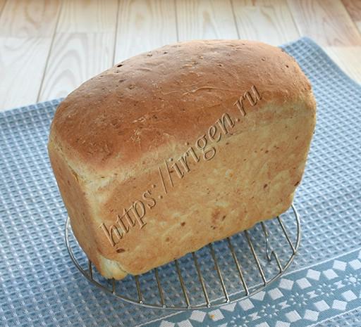 формовой хлеб с картофельным пюре