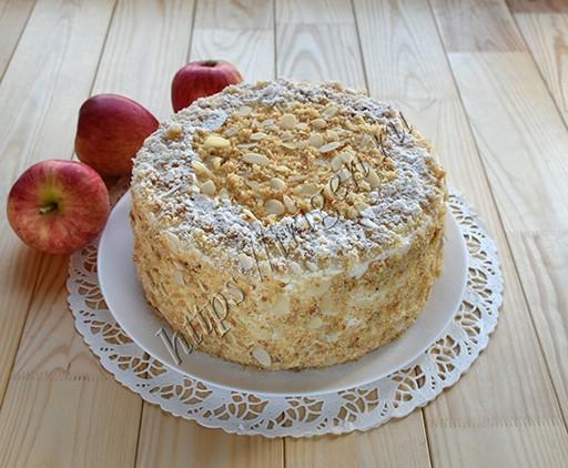 яблочный торт апфельмусс