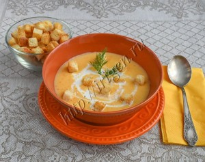 суп-пюре-сырный