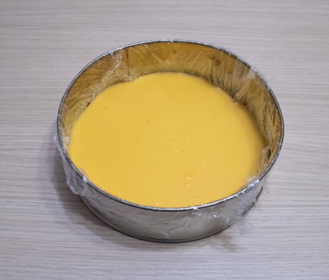 мандариновая прослойка